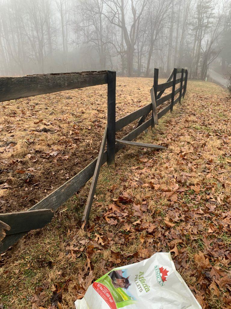 Thistle Hill Farm fence