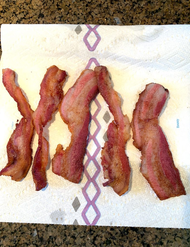 Bacon Cooked